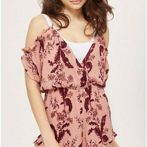 Topshop romper play suit new with tags
